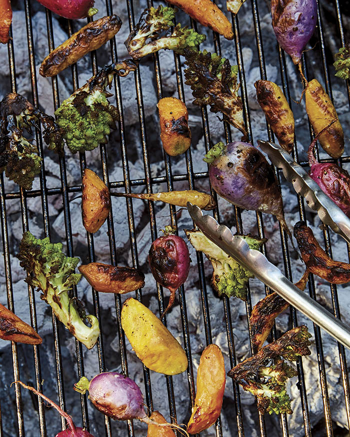Food52 Any Night Grilling_Grilled Vegetable Salad_recipe