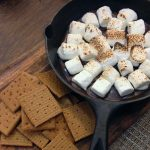 Cast Iron Skillet Chocolate-Coconut S'mores