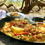 Alex's southwestern paella recipe