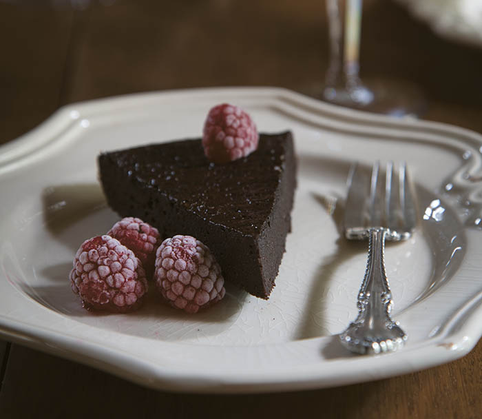 French Grill flourless chocolate cake recipe