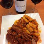 Lidia Bastianich's Rigatoni with Italian American Meat Sauce