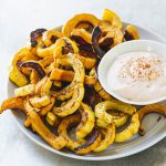Sonja and Alex Overhiser_Delicata Squash Fries with Awesome Sauce_recipe