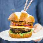 Sonja and Alex Overhiser_Giant Portobello Burgers with Caramelized Onions_recipe
