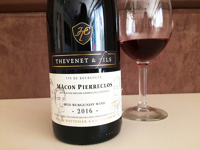 Macon Pierreclos_Red Burgundy