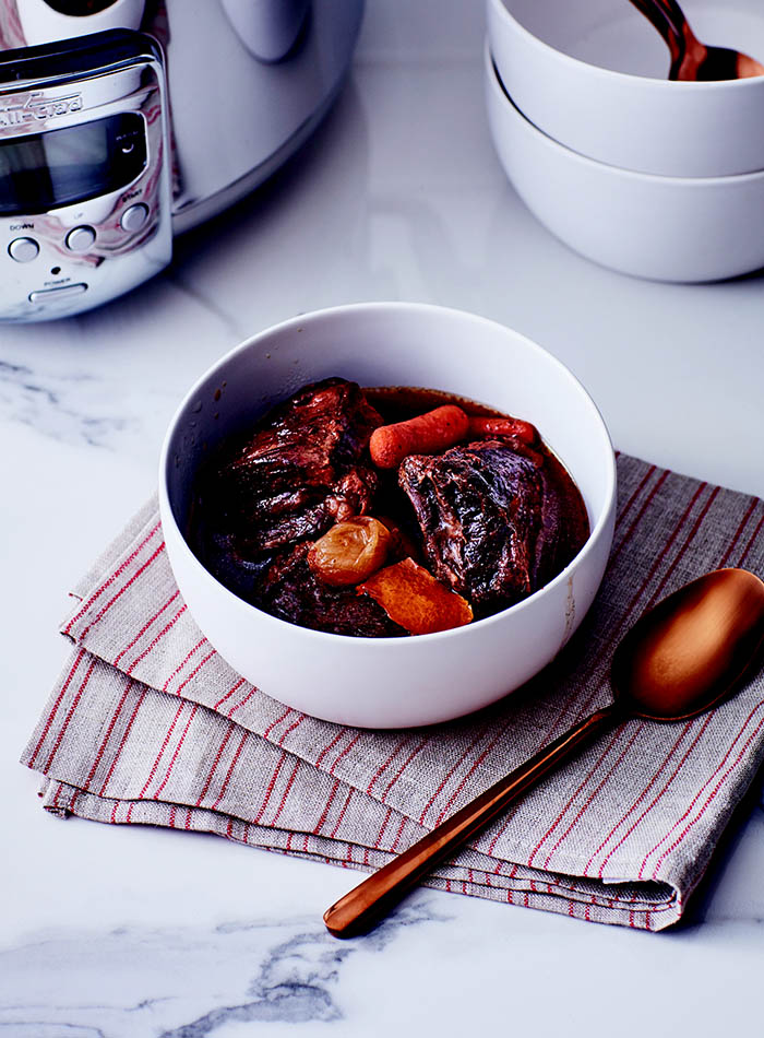 The Kitchen Shortcut Bible_Porcini and Orange Braised Short Ribs_recipe