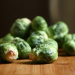 Faith's OMG Fresh Brussels Sprouts Salad with Truffle Oil
