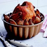 The Kitchen Shortcut Bible_Bistro Bundt-Pan Chicken with Shallots and Potatoes_recipe