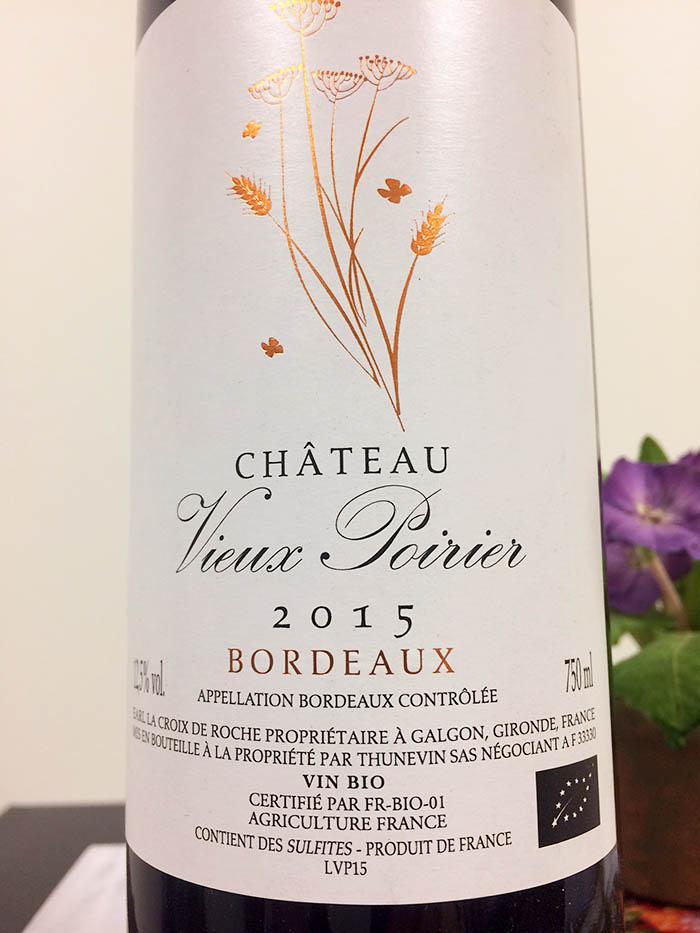 Vieux Poirier Bordeaux