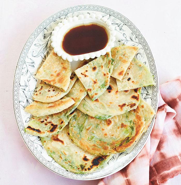 Now & Again_Julia Turshen_Scallion Pancakes_recipe