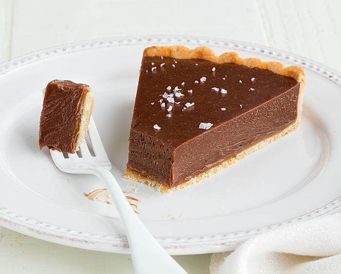 Rose Levy Beranbaum_Milk Chocolate Caramel Tart recipe