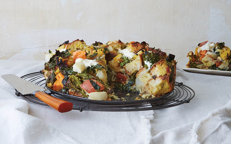 Any Season Strata recipe