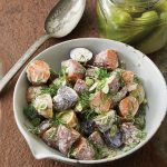 Dill Pickle Potato Salad recipe