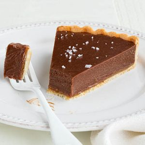 Milk Chocolate Caramel Tart (c) Matthew Septimus